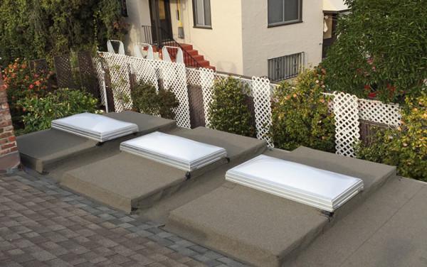 Hayward Flat Re-Roof with Skylight Installation