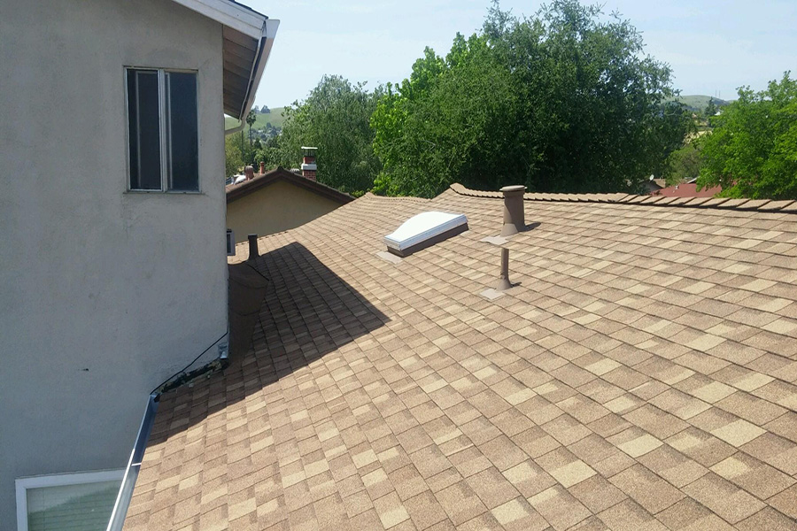 Vincent Roofing Co Inc Dublin Composition Shingle Re Roof