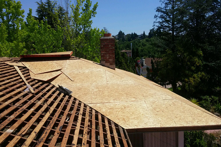 Hayward Hills Composition Shingle Re Roof