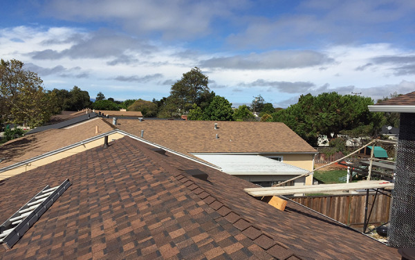 San Lorenzo Composition Shingle Re-Roof