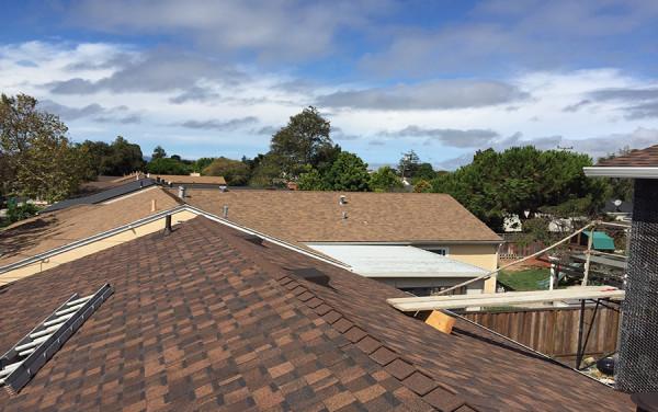 San Lorenzo Composition Shingle Re-Roof