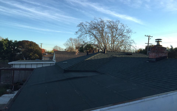 Lean, Mean, Hunter Green Re-Roof
