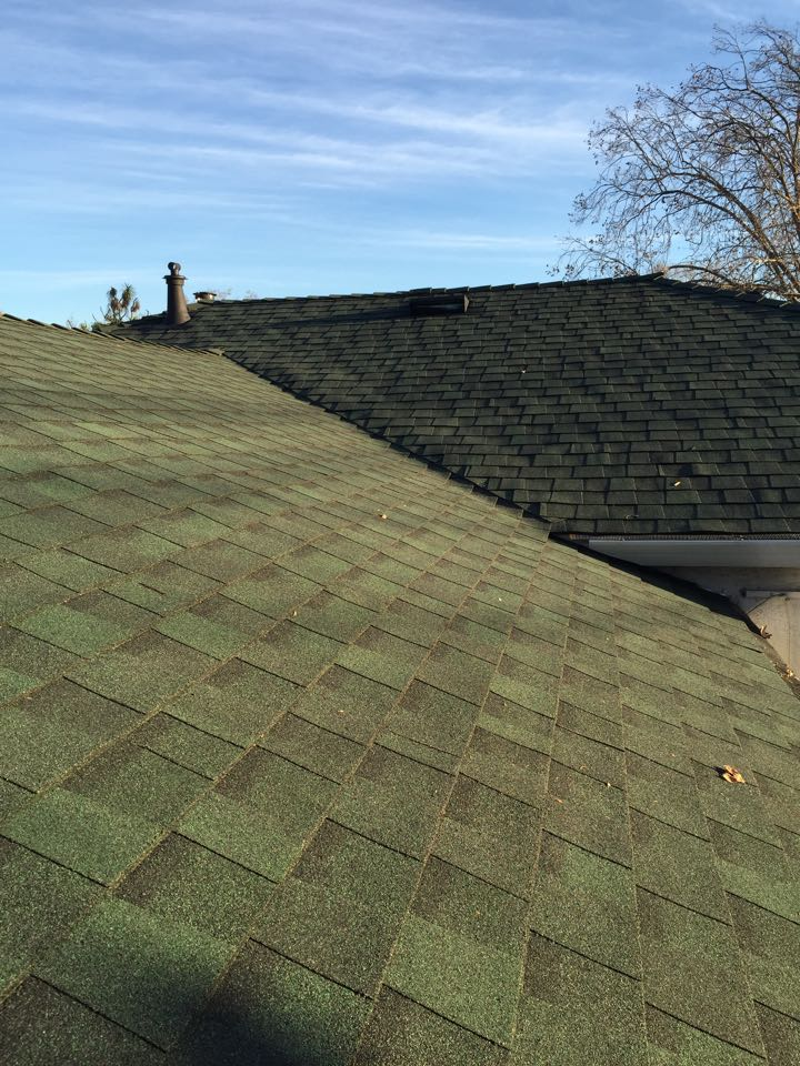 Lean Mean Hunter Green ReRoof – Hunter Green Roof Shingles